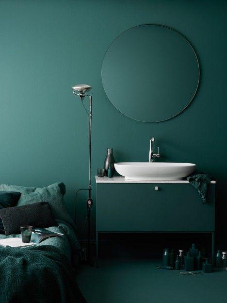 Green Stylish Interior