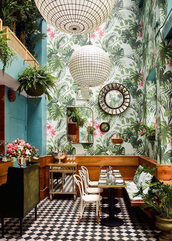 Tropical Look Interior