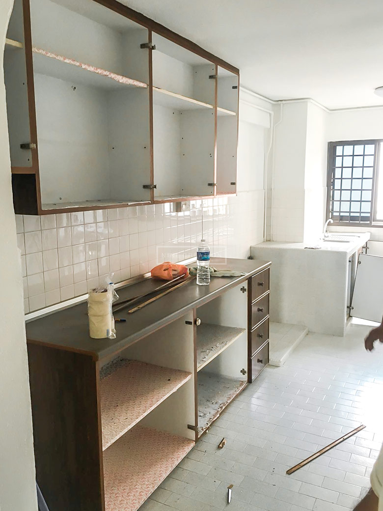 Condo Kitchen Before 3